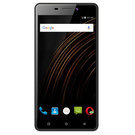 Xifo Allura Curve 4G Smartphone with 5-inch 1GB RAM and 16GB ROM (Reliance Jio 4G Sim Support) in Black Colour, black, generally delivered by 5 working days, 7 days return / replacement policy after delivery