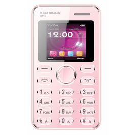 Kechaoda K116 Mini Mobile With Bluetooth Connectivity in RoseGold Colour, rosegold, 7 days return / replacement policy after delivery , generally delivered by 5 working days