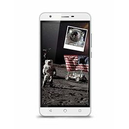 """Nuu X5 4G Volte Smartphone with 3GB RAM 32GB ROM 5.5"""" Touchscreen HD Display and Finger Print Sensor (Jio 4G Support) in Silver Colour, silver, generally delivered by 5 working days, 7 days return / replacement policy after delivery"""