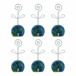 Peacock Design Hand Crafted Decorative Bangle Stand Box Set of 6 Pcs Decorative Showpiece - 15 cm Size Each