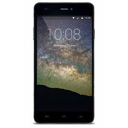 """Hyve Storm 4G 5"""" Touch-screen 4G Jio Sim Support 2 GB RAM & 16 GB Internal Memory and 13 Mpix /5 Mpix Hd Smartphone in Grey Colour, black, 7 days return / replacement policy after delivery , generally delivered by 5 working days"""