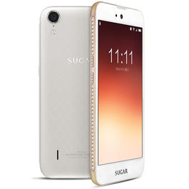 """Sugar C6 5"""" 4G Reliance Jio Support 4G Mobile Smart Phone with 4000 mAH battery 2 GB RAM & 16 GB ROM and 13 Mpix /5 Mpix, white, 7 days return / replacement policy after delivery , generally delivered by 5 working days"""