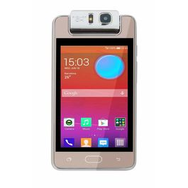 """Microkey E9 4"""" Touch Screen 1.3 GHZ Quad Core 180degree rotating camera mart Phone-RoseGold Colour, rosegold, 7 days return / replacement policy after delivery , generally delivered by 5 working days"""