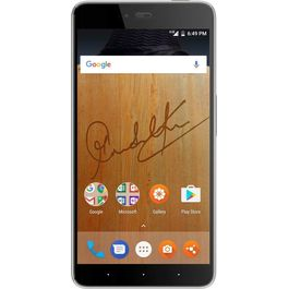 Smartron SRT VoLTE phone (Finger Print Sensor) 64GB Memory With 4GB RAM with 5.5-inch, Octa-Core, (Jio 4G Smartphone) , 13 Mpix /5 Mpix Hd Smartphone in Grey Colour, grey, 7 days return / replacement policy after delivery, generally delivered by 5 working