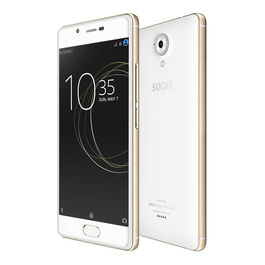 Sugar C7 Finger Print Sensor 3GB RAM Model with 5.0-inch 1080p display, Quad Core, 3GB RAM (Reliance Jio 4G Sim Support) 32 GB Internal Memory and 13 Mpix /8 Mpix HD Smartphone in White Colour, white, generally delivered by 5 working days, 7 days return /