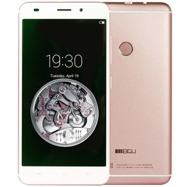Meigu Model M7 5.5 Inch (Finger Print Sensor) 32 GB Internal Memory with 2 GB RAM and Reliance Jio 4G Sim Support in Rosegold Colour, rosegold, 7 days return / replacement policy after delivery , generally delivered by 5 working days