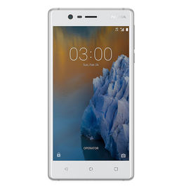 """Nokia3 16 GB with 2 GB RAM 5"""" TouchScreen 8Mpx/8Mpx Camera Smartphone in White colour, white, 7 days return / replacement policy after delivery, generally delivered by 5 working days"""