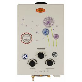 Surya Instant Gas Geyser 6 litres/Minute in White Colour