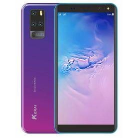 Kekai Aqua 4G Smartphone (2GB 16GB) Volte (Jio sim Supported) 5.5  Inch Display 4G Smartphone (2GB RAM, 16GB Storage) in Blue