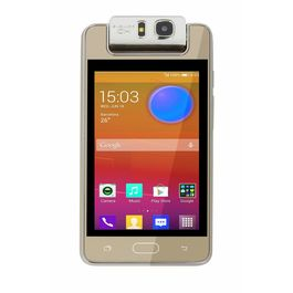 """Microkey E9 4"""" Touch Screen 1.3 GHZ Quad Core 180degree rotating camera mart Phone-Gold Colour, gold, 7 days return / replacement policy after delivery , generally delivered by 5 working days"""