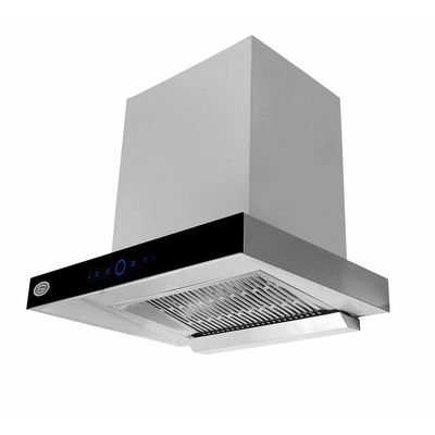 SURYA SU1002 60 CM Flat Kitchen Chimney (Range hood) in Touch With Completely Automatic, Gas Sensor, Auto Clean IN Stainless Steel