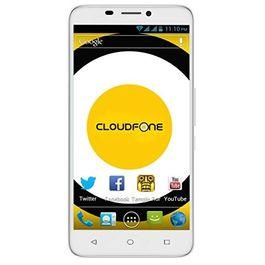 Cloudfone special edition with Intel Atom X3 Android 5.1 Lolipop 2 GB RAM Dual-SIM 8MP Camera Phone White Colour, white, 7 days return / replacement policy after delivery