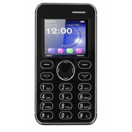Kechaoda K116 Mini Mobile With Bluetooth Connectivity in Black Colour, black, 7 days return / replacement policy after delivery , generally delivered by 5 working days