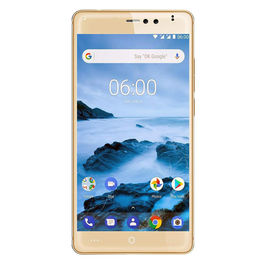 OKWU PI Plus 4G VoLte 3GB RAM Model with 5.0-inch 1080p display, (Reliance Jio 4G Sim Support) 16 GB Internal Memory and 13 Mpix /8+ 5 Mpix dual Camera HD Smartphone in Gold Colour, gold, generally delivered by 5 working days, 7 days return / replacement