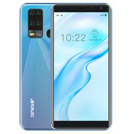 """Spinup A6 4G Smartphone (2GB 16GB) Volte (Jio sim Supported) 5.99"""" Inch Display 4G Smartphone (2GB RAM, 16GB Storage) in Ice Blue"""