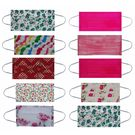 Maplin Pure Cotton Mask Washable & Reusable 100 GSM 10 Pcs Set in Multicolour