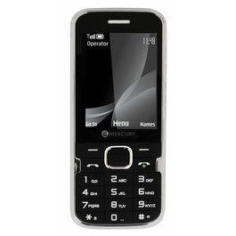 Mercury F37 Heavy Battery Dual Sim Mobile Phone in black colour, black