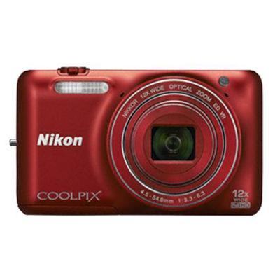 Nikon Coolpix S6600,  red