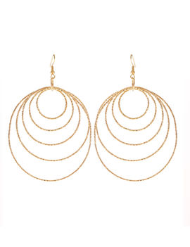 Eternz reve collection gold plated ascending hook hangings for women