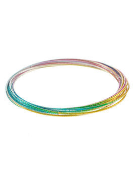 Eternz reve collection multi-colour multiple ring bangle for Women