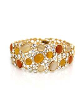 Eternz reve collection gold plated designer collection bubbles inspired bracelet for women