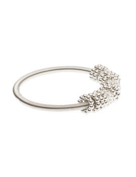 Eternz reve collection bracelet with silver plating and charms for women