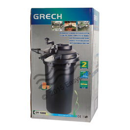 SunSun Grech CPF - 15000 Pond Filter With UV