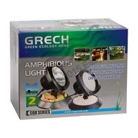 SunSun Grech - CQD 135 - Pond light Amphibious LED Submersible Light