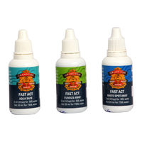 Grandfish Fast Act kit White Spot Away Fungus Away and Aquasafe Fish Treatment 30ml
