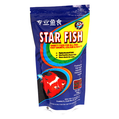 Star Fish - Fish Food (100 Grams) (Pack of 2) , 1 mm, 3 mm