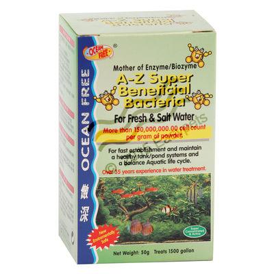Ocean Free A-Z Super Beneficial Bacteria, 200 g