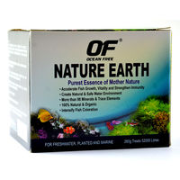 Ocean Free Nature Earth For freshwater, Planted and Marine - Water Treatment (260 Grams)
