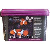 Aquarium Systems Instant Ocean Marine Salt (4 Kilograms)