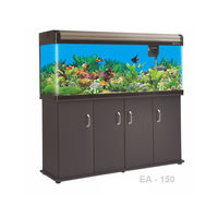 Boyu Large aquarium Fish Tank EA-150, tank with cabinet