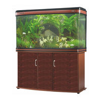 Boyu Large aquarium Fish Tank LH-1200, tank with cabinet