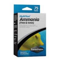 Seachem Multi Test Ammonia 75 TESTS