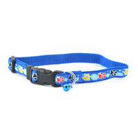Easypets STELLAR Dog Colar with Bell Blue