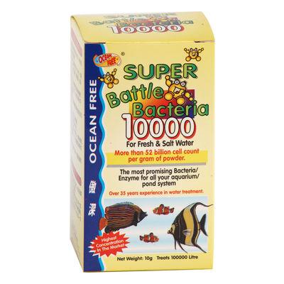 Ocean Free Super Battle Bacteria 10000 (10 Grams)