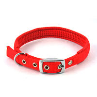Easypets COMFORTFIT Dog Collar (Small) (Red)