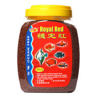 Ocean Free Royal Red Fish Food (1.2 Kilogram) , 1 mm, 3 mm