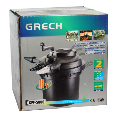 SunSun Grech CPF - 5000 Pond Filter With UV