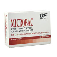 Ocean Free Microbac Formulated Capsules For Arowana