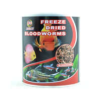 Aquav Freeze Dried Blood Worms - Fish Food