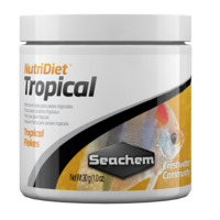 Seachem NutriDiet Tropical Flakes FISH FOOD 30GR