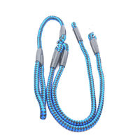 Easypets TWINDOG 2in1 Dog Leash Extra (Large) (Blue)