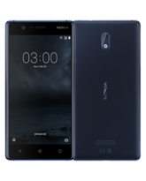 NOKIA 3 16GB 4G LTE DUAL SIM,  tempered blue