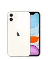 APPLE IPHONE 11,  white, 64gb