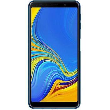 سامسونج جالكسي A7 2018  سعة 128 جيجابايت ثنائي الشريحة,  Blue