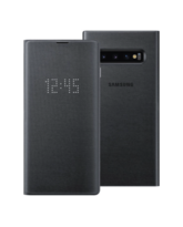 SAMSUNG GALAXY S10 BACK CASE LED COVER BLACK