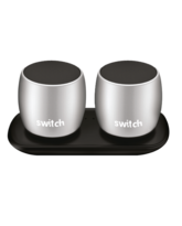 SWITCH WS1 2 X 3W TRUE WIRELESS SPEAKERS SILVER,  silver